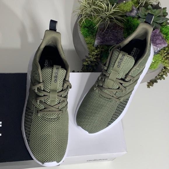 Nwt Adidas Questar Flow Sneakers Army